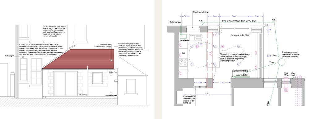 EXTENSION TO A GROUND FLOOR FLAT